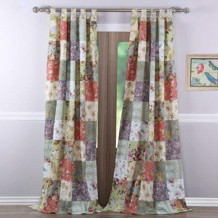 Global Trends Carmel Curtain Panel, Set of
