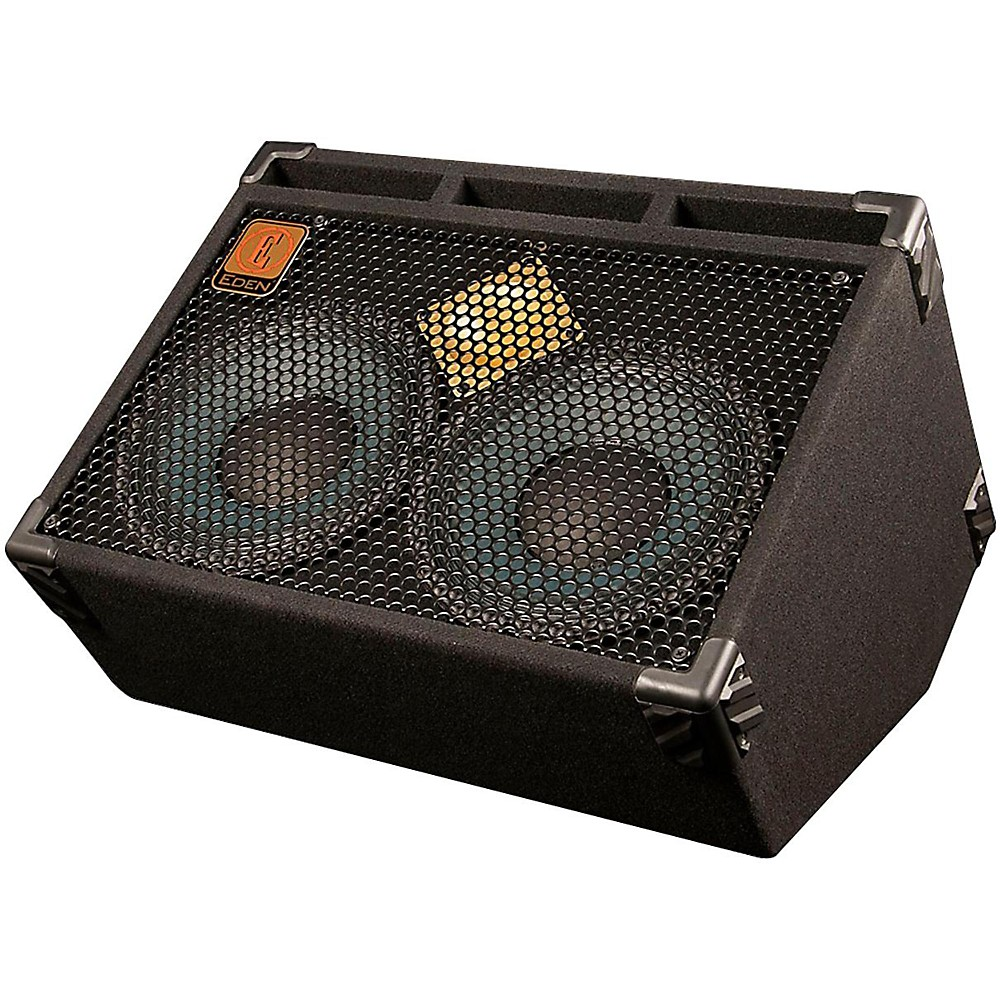 Eden D210 500W 2x10 4ohms Bass Speaker Cabinet and Monitor Wedge by Eden Organic