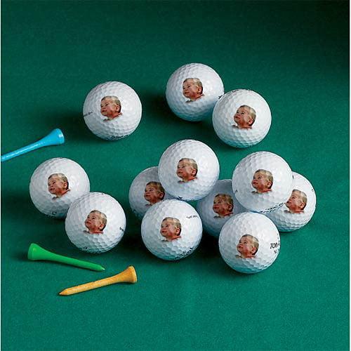 Personalized Top Flight Golf Balls, 1 Dozen, Image