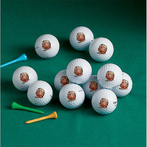 Personalized Top Flight Golf Balls, 1 Dozen, Image