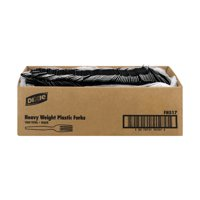 Dixie Heavy Duty Forks Black - 1000 CT1000.0 CT