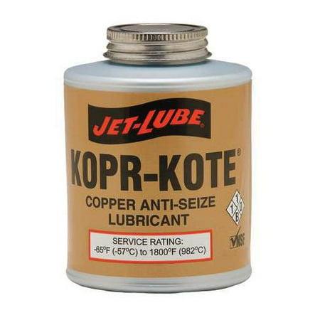 - JET-LUBE 10055 Anti Seize Compound, Copper, 1/4 Lb