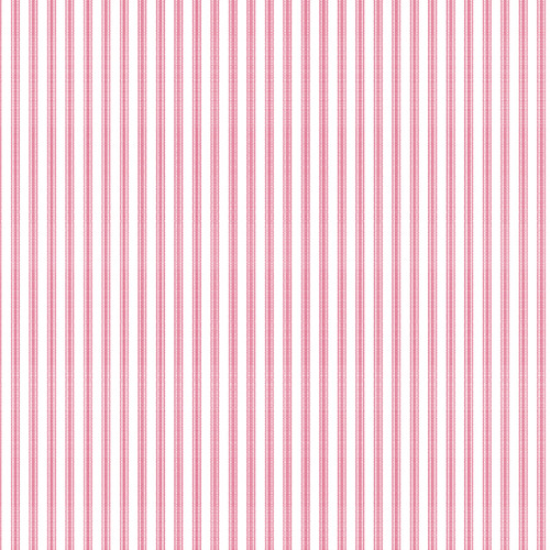 York Wallcoverings Ashford Taffeta Ticking 33' x 20.5'' Stripes Wallpaper