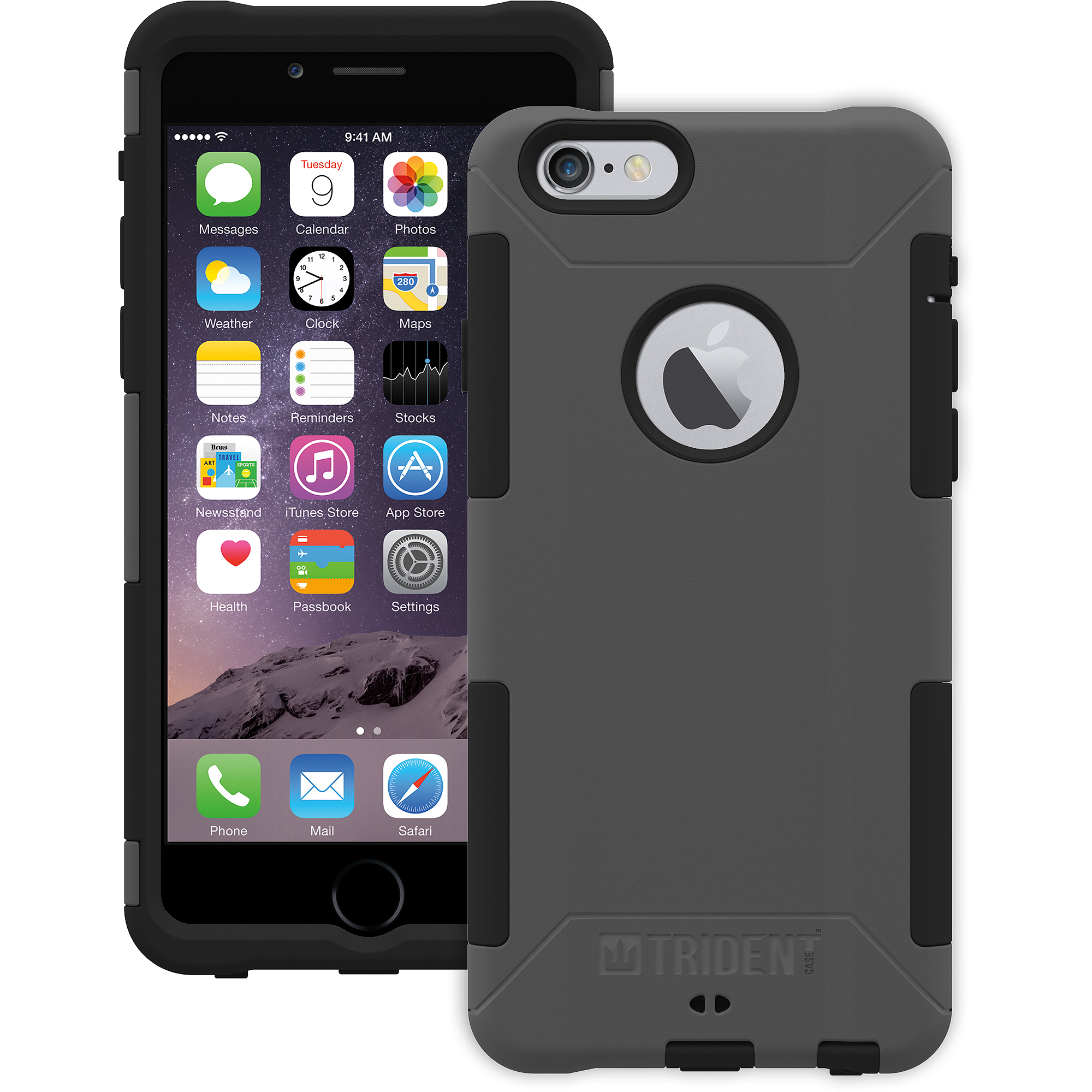 Trident Aegis Case for Apple iPhone 6, Gray
