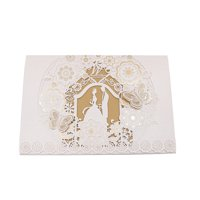 Product Image 10Pcs Delicate Carved Romantic Wedding Party Invitation Card  Envelope 6152a7c8e