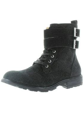 Product Image Von Dutch Taylor Men s Double Buckle Combat Boots Size 9.5 bcba1a798c2