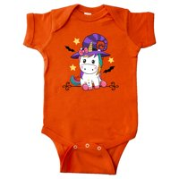 Halloween Girls Unicorn Witch Outfit Infant Creeper