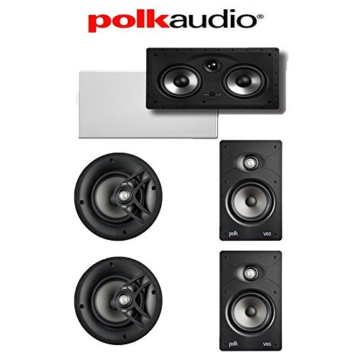 Polk Audio V60BUN5.0II, V60, V65, 255C-RT 5.0 Vanishing Series In-Wall / In-Ceiling