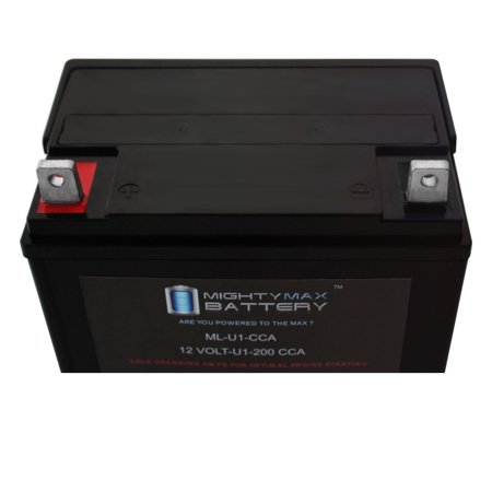 ML-U1 200CCA Battery for Simplicity Express 15.5H Hydrostatic Mower - image 6 of 6