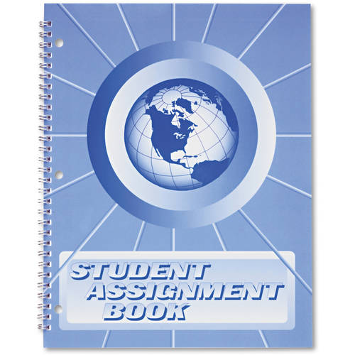 (4 Pack) Ward, HUBSA98, 40 Week Student Assignment Book, 1 Each, White