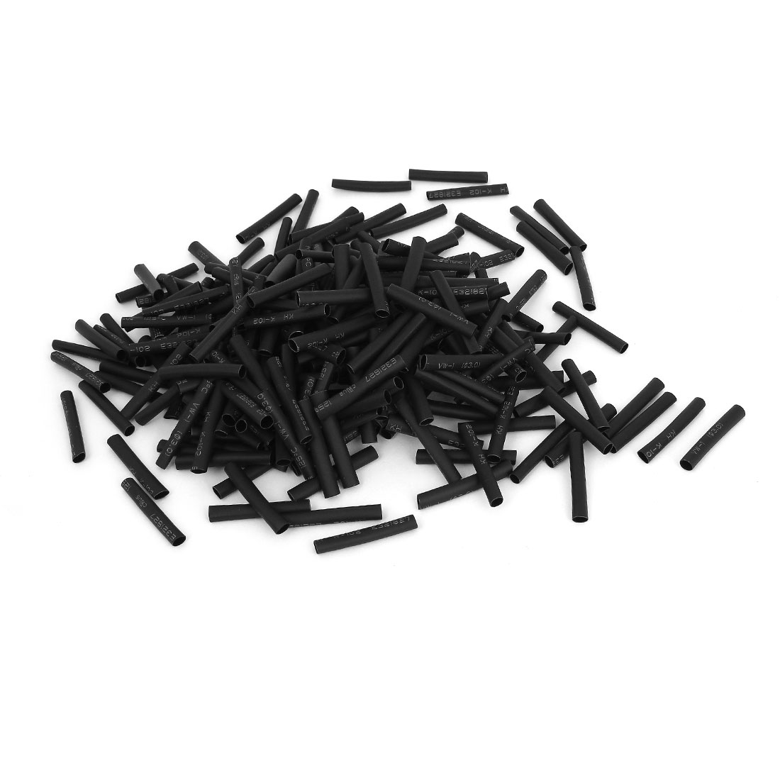 800pcs 3mm Polyolefin 2:1 Heat Shrink Tubing Electrical Connection Wrap Wire