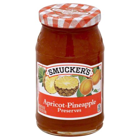 Smuckers Apricot Pineapple Preserves  18 Oz