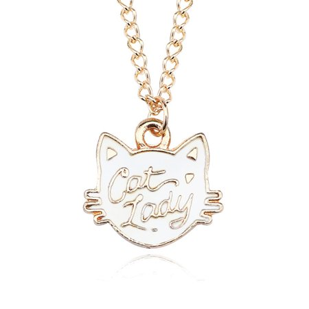 Creative Cartoon Animal Pattern Necklace Fashionable Cute Pendant Necklace 1 ()