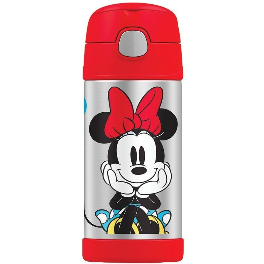 Thermos F4016MM6 12-ounce Minnie Mouse Funtainer Bottle