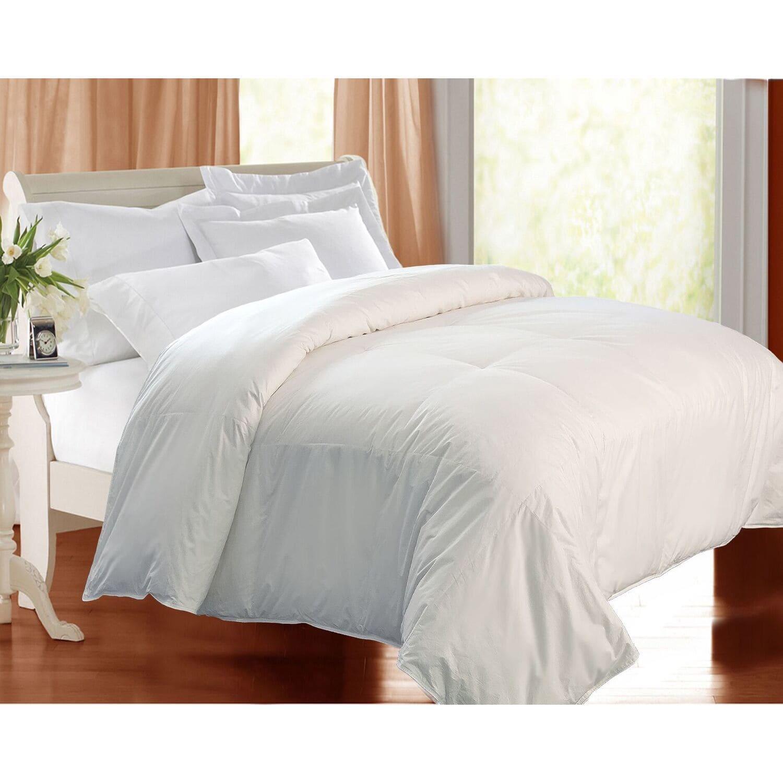 kathy ireland Home kathy ireland Eco Unbleached Cotton Down Comforter