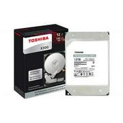 Toshiba HDWR21CXZSTA 12 TB 7200 RPM SATA 6GBs 256 MB Cache 3.5 in. Performance & Gaming Internal Hard Drive