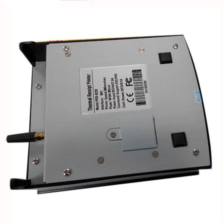 POS-8220 Portable Wireless WIFI POS Thermal Receipt Printer 80mm Auto Cutter