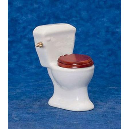 Dollhouse Bathroom Toilet/White Dollhouse Bathroom Toilet