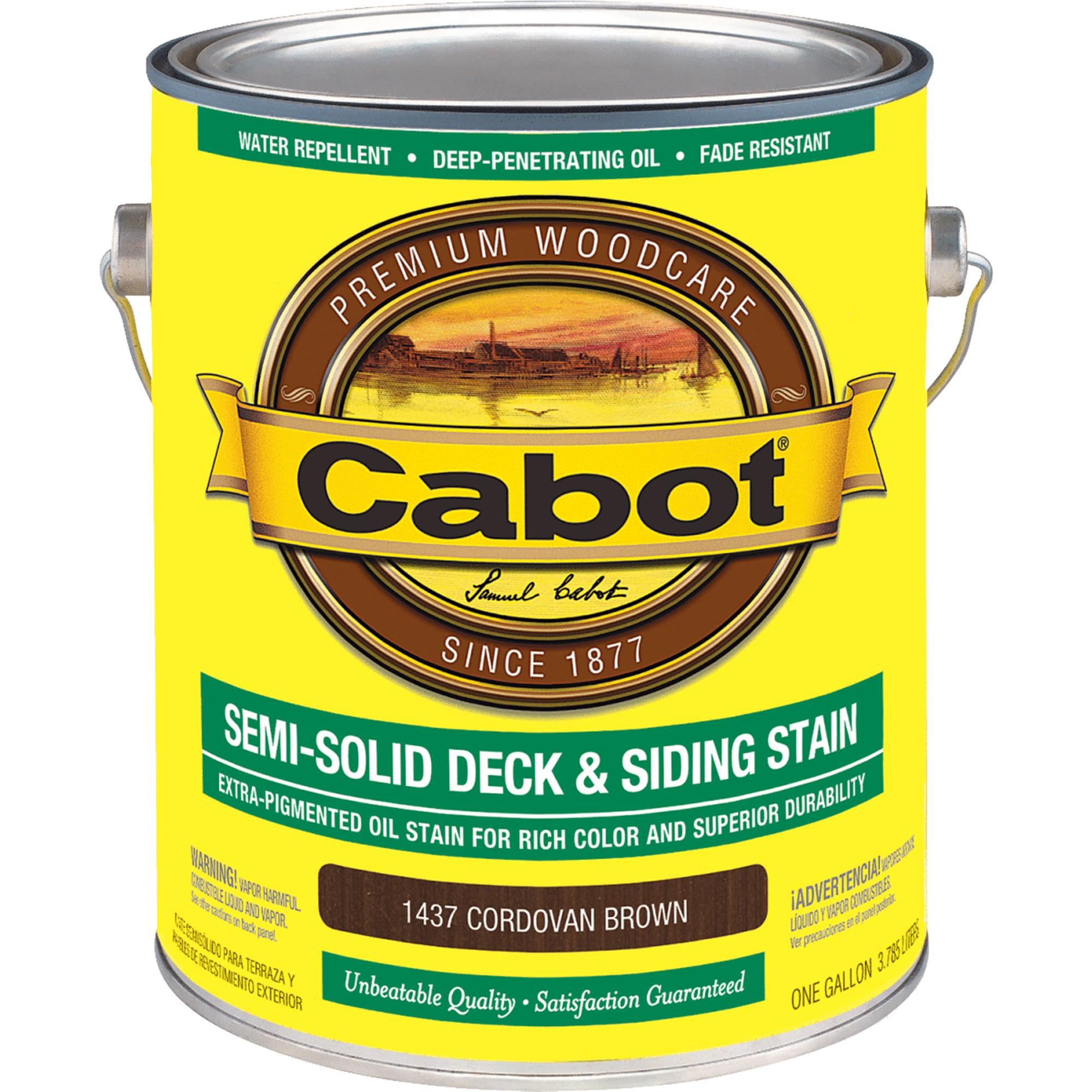 Cabot Semi-Solid Deck & Siding Stain