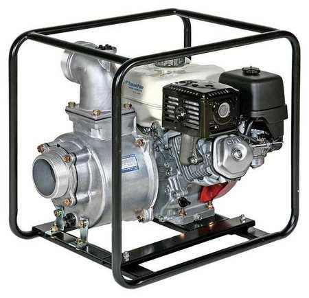 Engine Driven Centrifugal Pump,4 HP Tsurumi TE3-50HA by TSURUMI (AMERICA), INC.