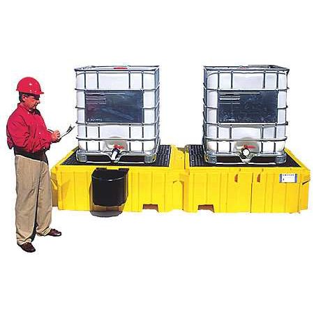 Ultratech 1146 Ibc Containment Unit 22 In  H Yellow G9841745