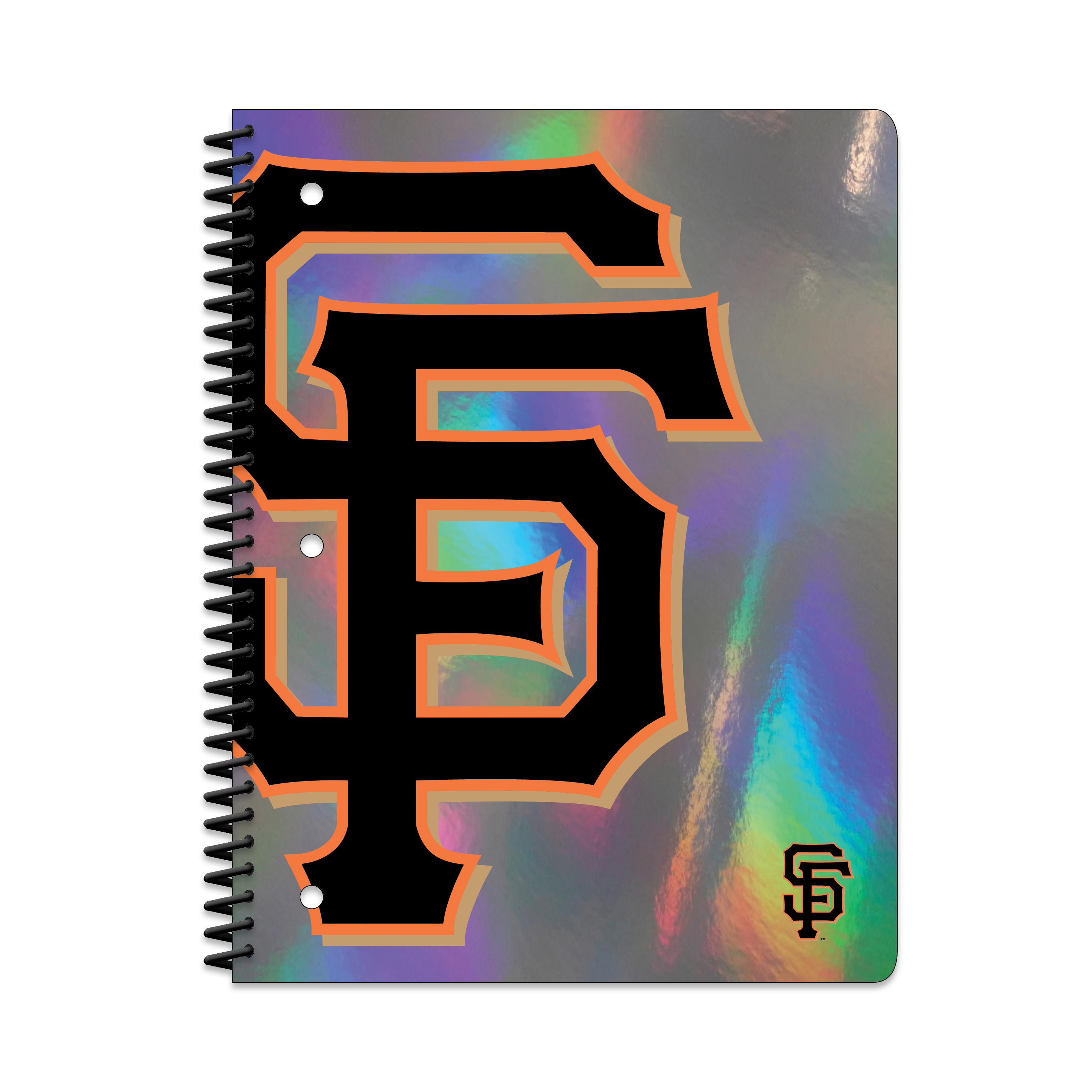 SAN FRANCISCO GIANTS HOLOGRAPHIC 1-SUBJECT NOTEBOOK