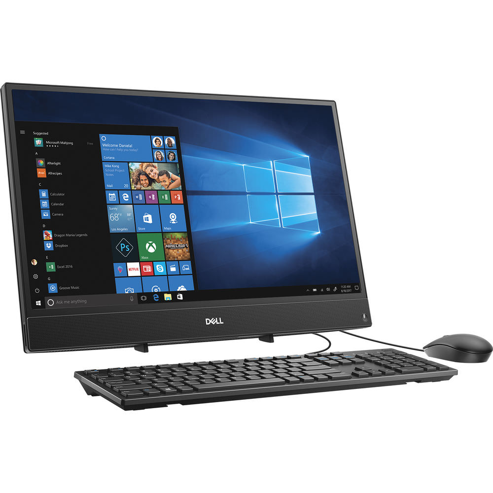 "Dell Inspiron AIO Desktop, 21.5"", Intel® Core™ i5-7200U, Intel® HD Graphics 620, 1TB HDD Storage, 8GB RAM, i3277-5071BLK-PUS"