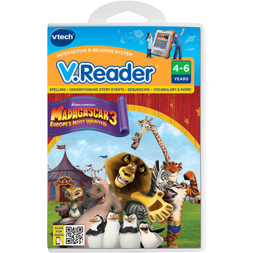Vtech Madagascar 3 Software For V.reader