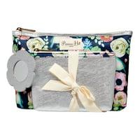 Product Image Primrose Hill Makeup Bag 2-piece Clutch Set Rose Floral ( 15  Value) 8d137bfa96bdb