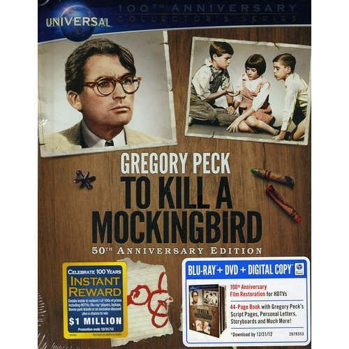 To Kill A Mockingbird (50th Anniversary) (Blu-ray   DVD) (DigiBook) (With INSTAWATCH) (Widescreen)