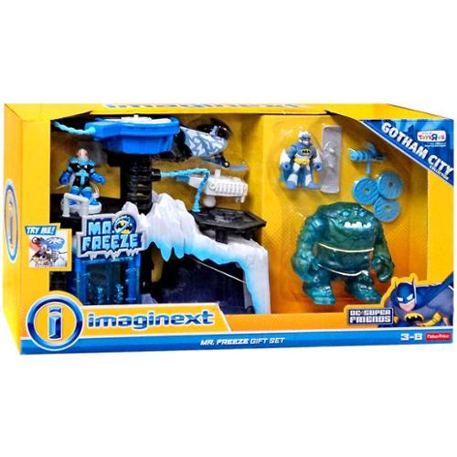 Fisher Price DC Super Friends Batman Imaginext Mr. Freeze Gift Set Exclusive