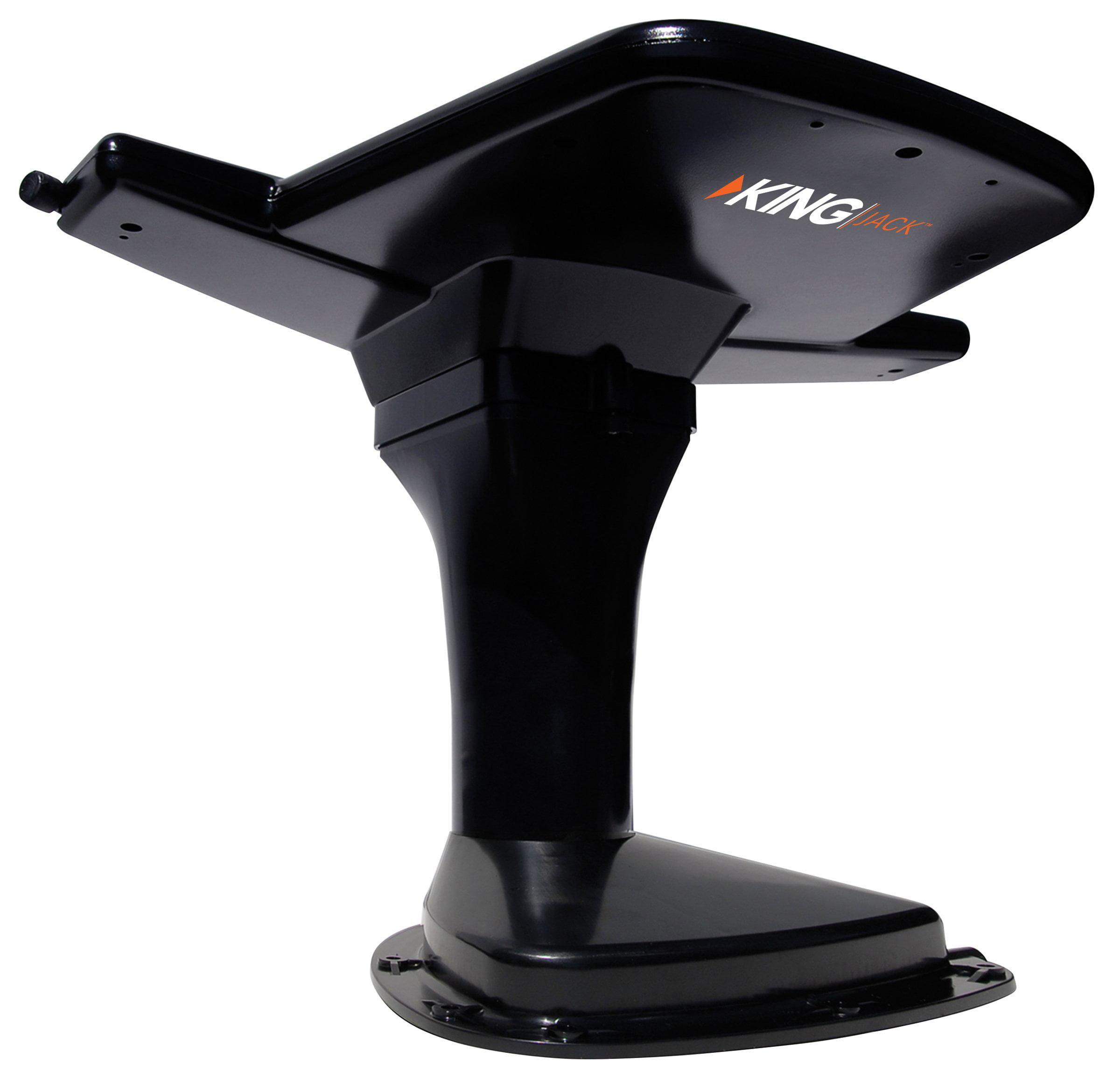 King Controls OA8201 King Oa8201 King Jack[tm] Aerial Mount Hd Antenna With Signal Meter [black]