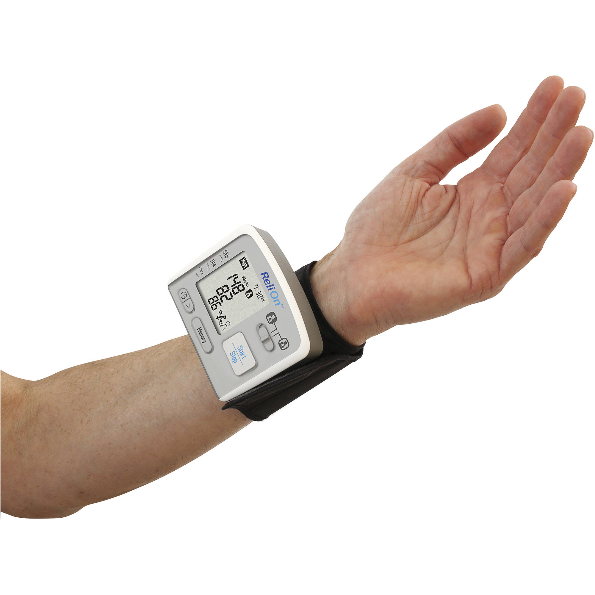 relion blood pressure machine