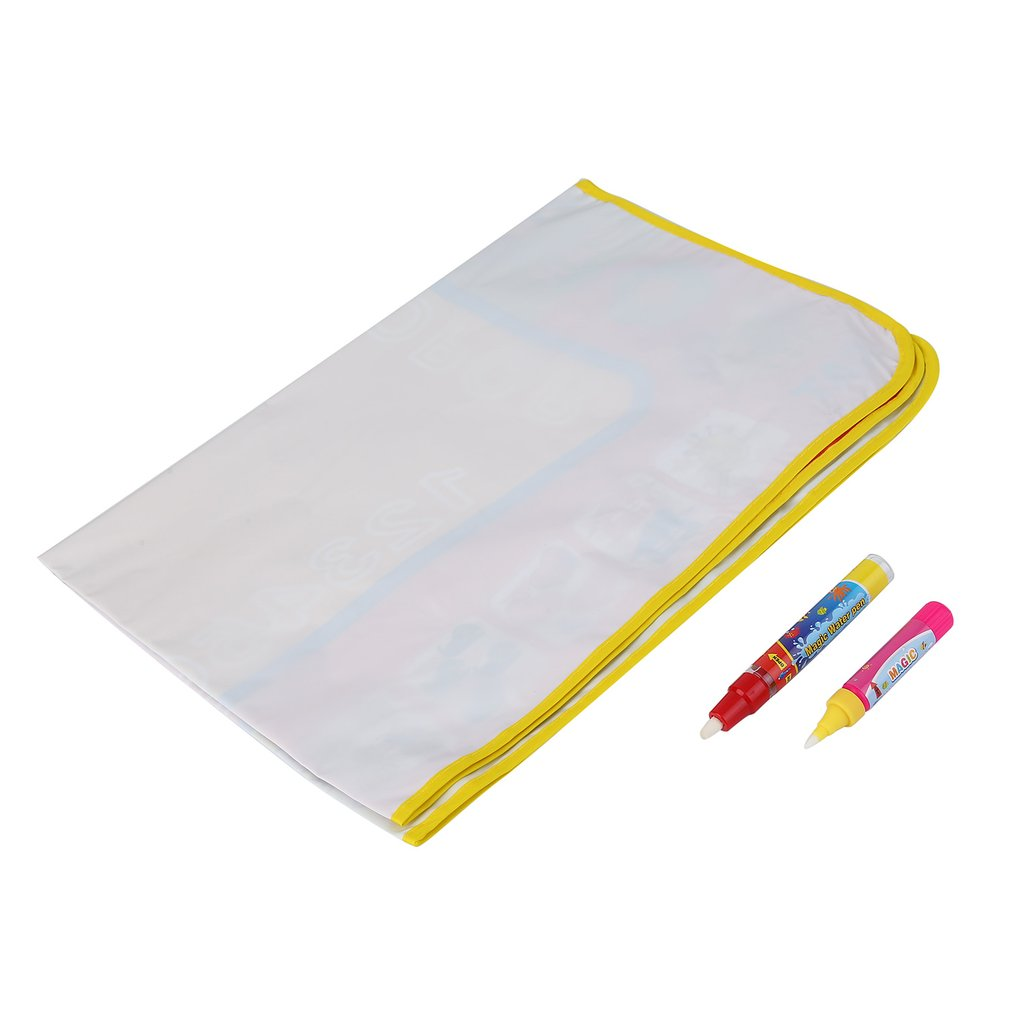 1pc Kids Water Drawing Painting Writing Board & Magic Pen Doodle Graffiti Mat Newest Hot Selling by