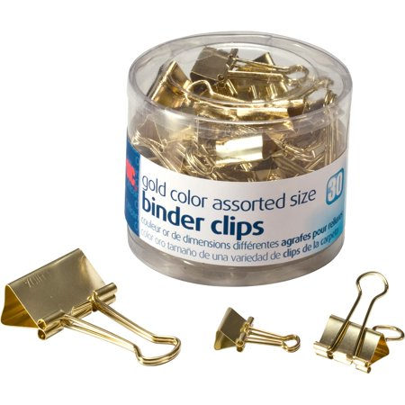 - OIC Assorted Size Binder Clips