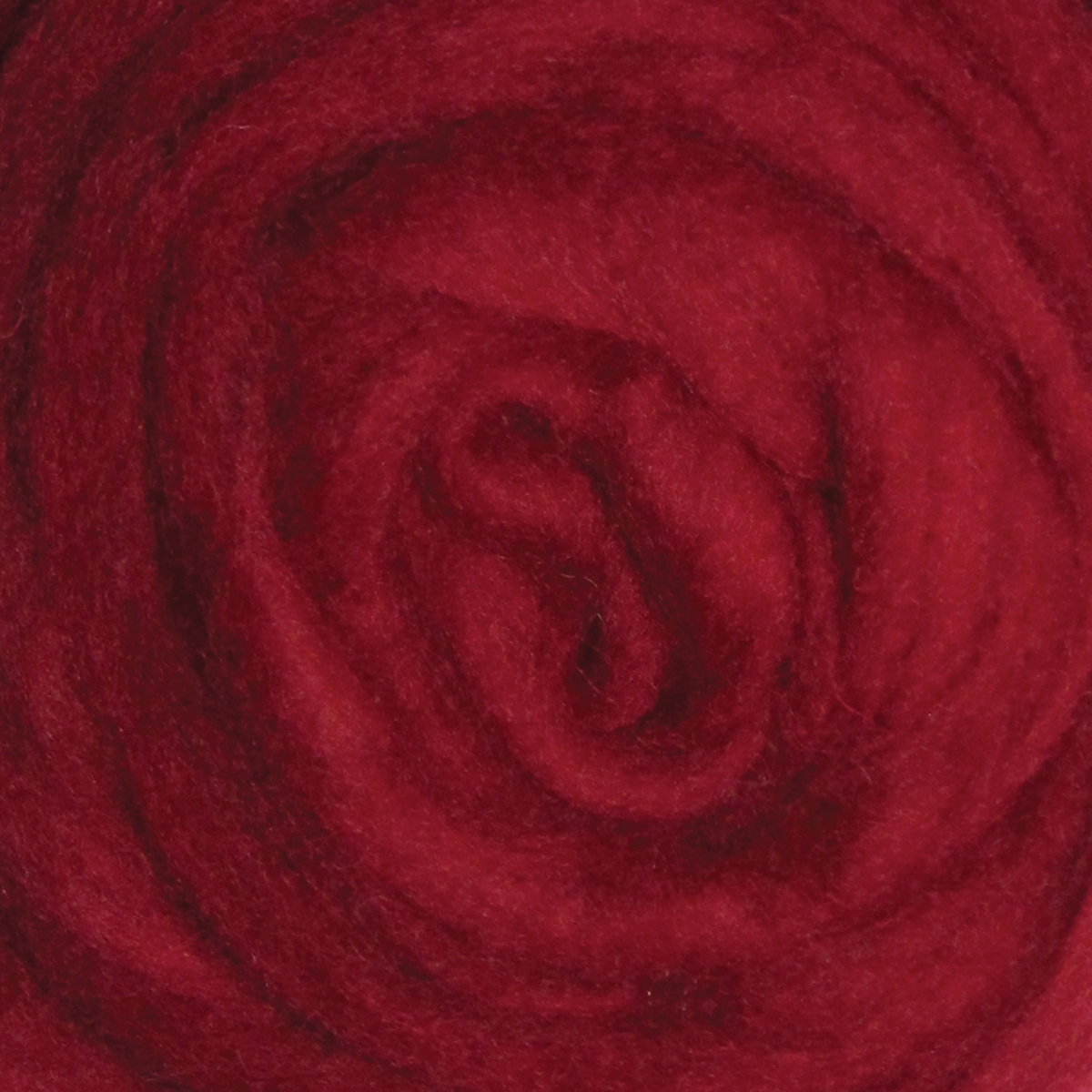 "Wistyria Editions Wool Roving 12"" .22oz-Cherry Red"