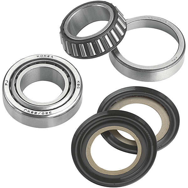 Moose Racing Steering Stem Tapered Bearing Kit Fits 83-84 Yamaha YTM225DX Tri-Moto