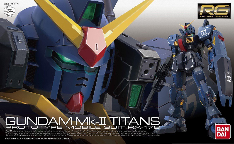 Bandai Hobby #07 RX-178 Gundam MK II Titans 1 144 RG Model Kit by Bandai Hobby