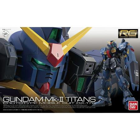 Bandai Hobby #07 RX-178 Gundam MK II Titans 1/144 RG Model