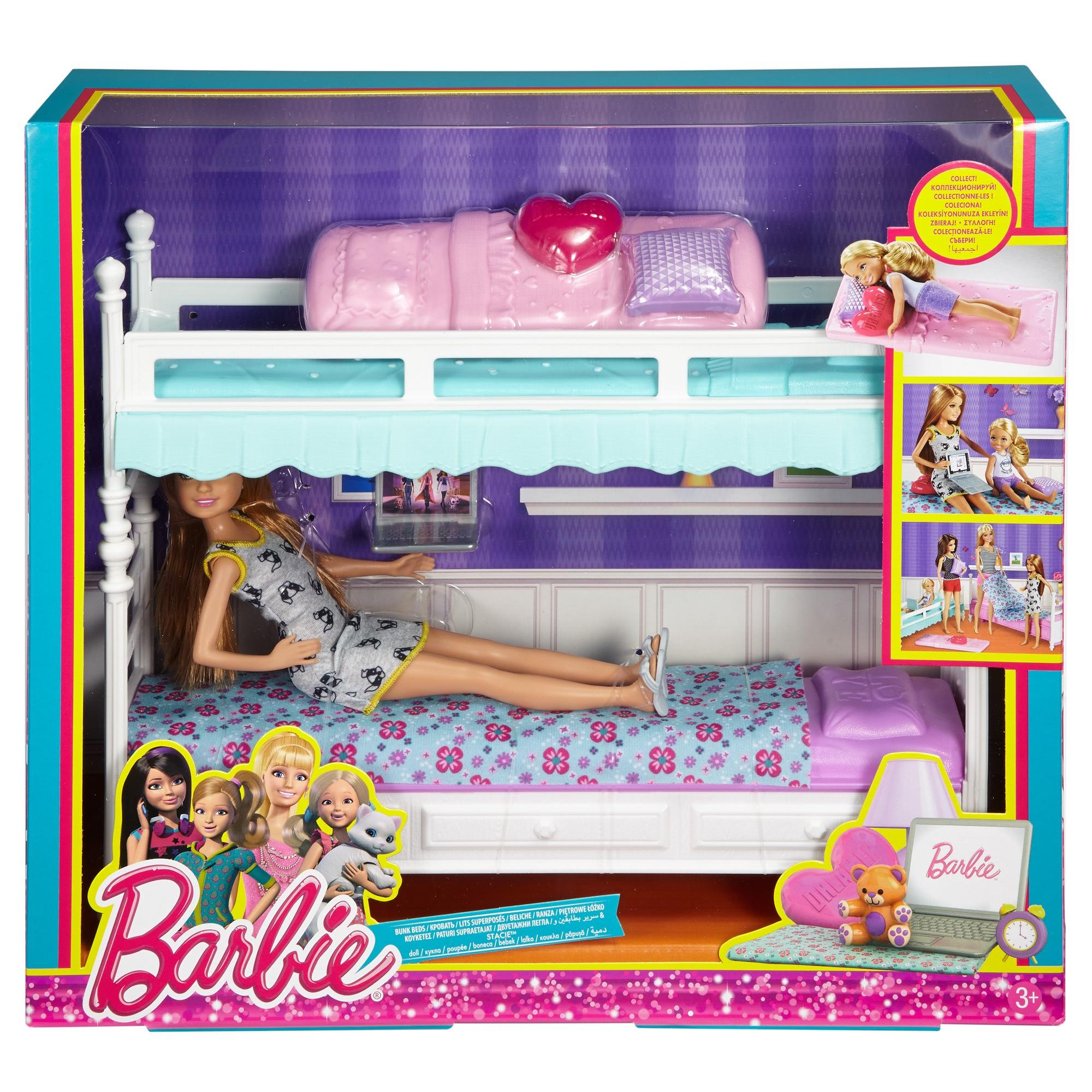 how to make a barbie bunk bed