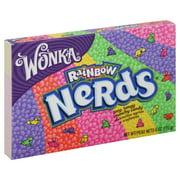 Wonka Nerds Rainbow Crunchy Candy, 6 Oz.
