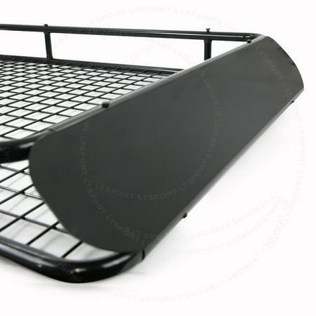 lt sport brand fit rx350 roof top rack carrier cargo storage basket wind fairing free. Black Bedroom Furniture Sets. Home Design Ideas
