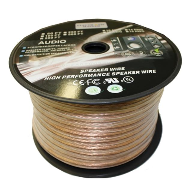 Homevision Technology EM6814200 TygerWire 200-Ft 2-Wire Speaker Cable with 14-AWG