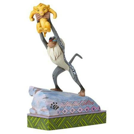 Jim Shore Disney Traditions Rafiki & Baby Simba On Pride Rock Figurine](Jim Shore Disney Halloween Figurines)