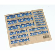 Zenoah Zenoah Decal Sheet, ZENC151