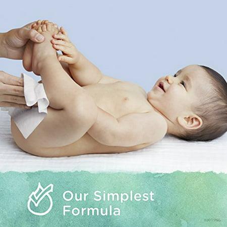 Pampers Aqua Pure Natural Sensitive Baby Wipes, 8X Pop-Top, 448 Ct