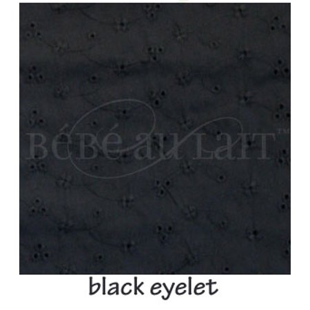 Bebe au Lait Nursing Cover - Eyelet - Black