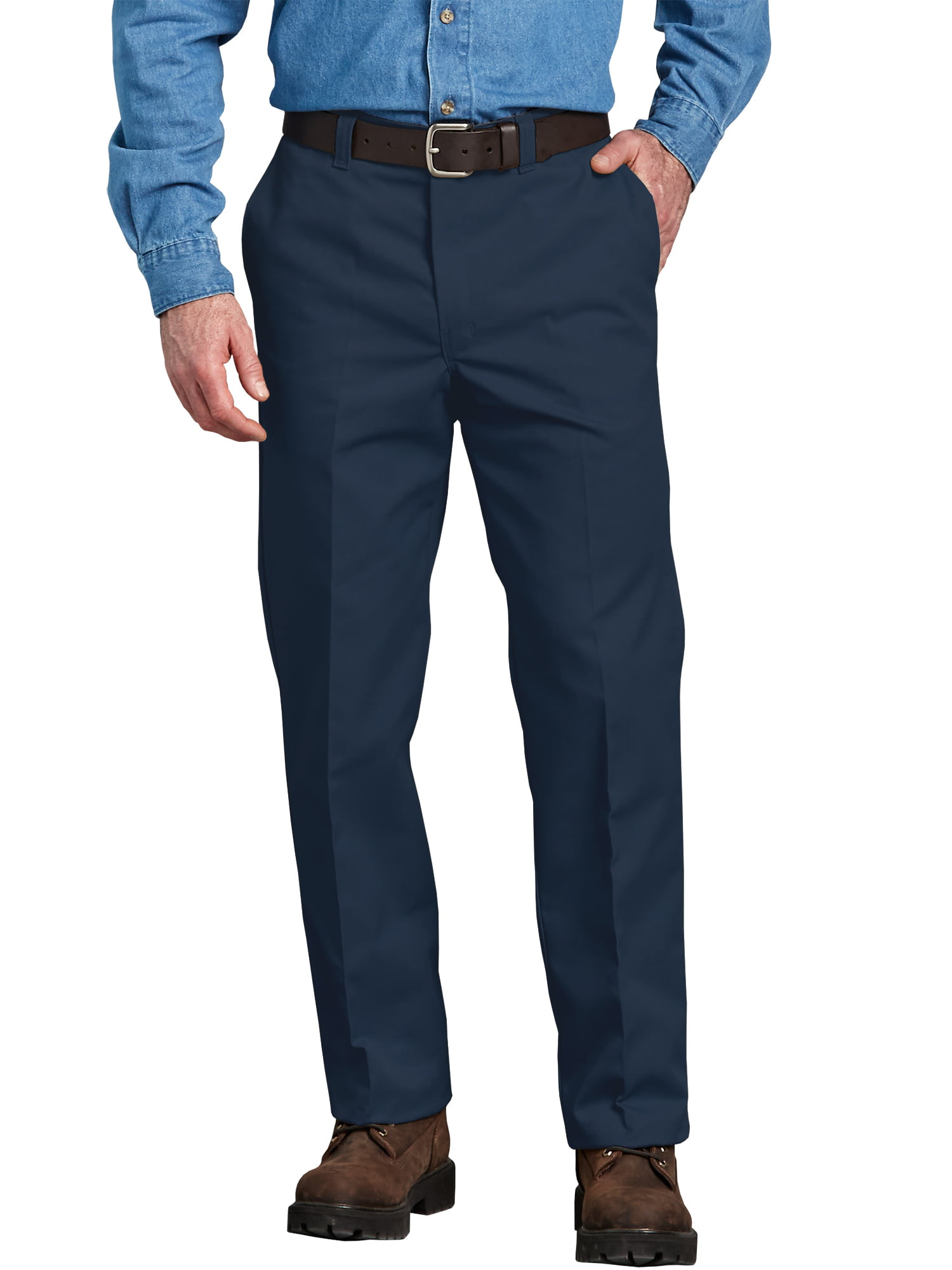 814cefd48 Genuine Dickies - Men s Regular Fit Flat Front Pant - Walmart.com