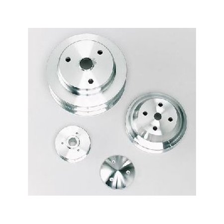 March Pulley Set (March Performance 6380 Serpentine Conversion Pulley Set - High Water Flow Ratio )