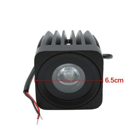 10W White Square Car Spot LED Work Light Offroad Driving Fog Lamp DC 3-3.6V - image 3 de 5